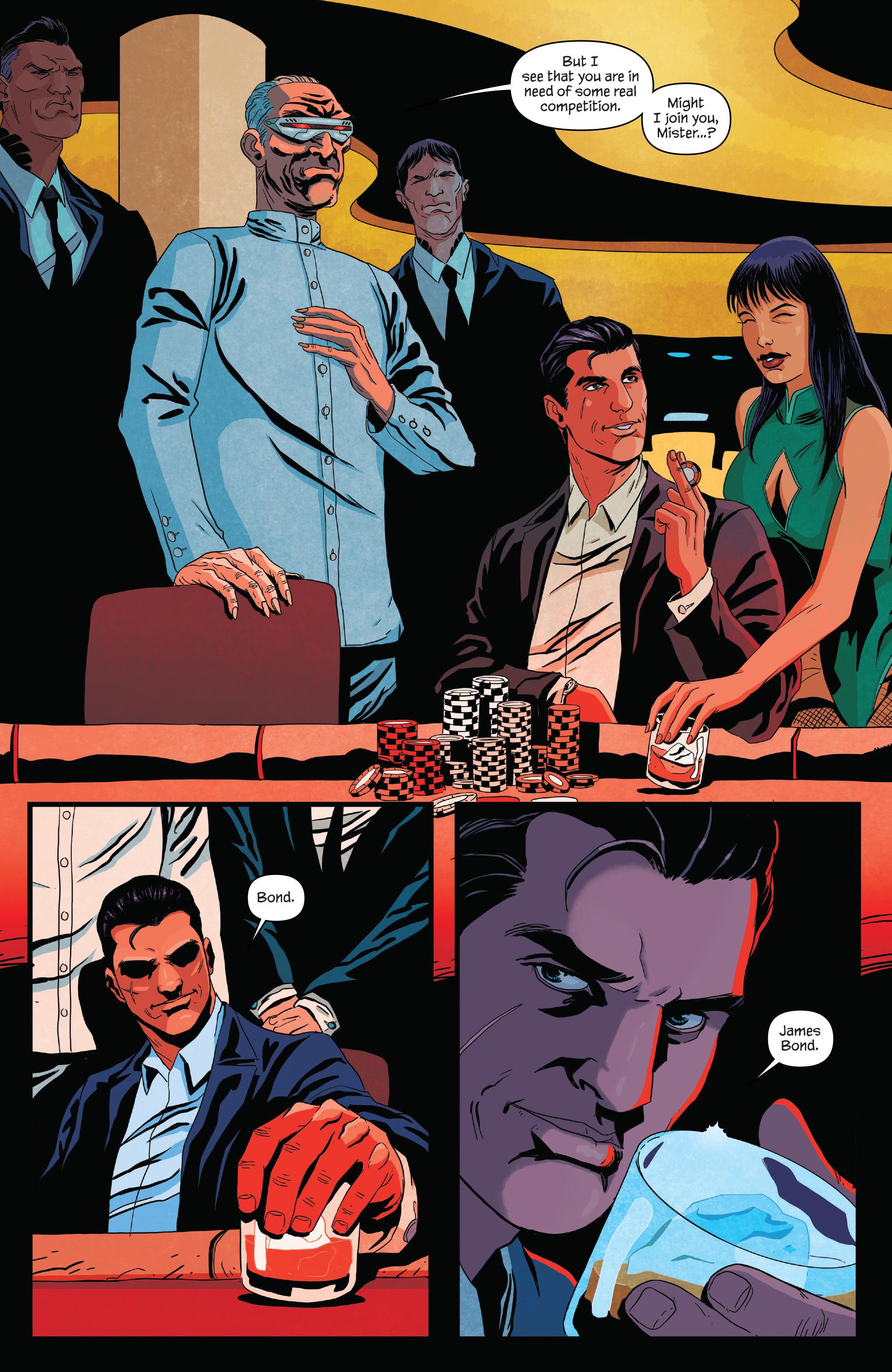 Read online James Bond (2017) comic -  Issue #2 - 8