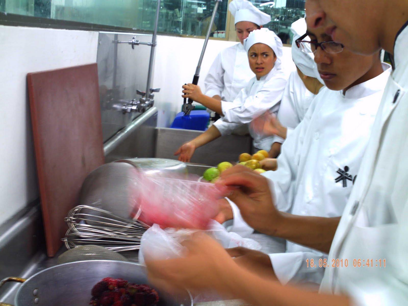 Tecnicos en Cocina Reposteria Jaleas