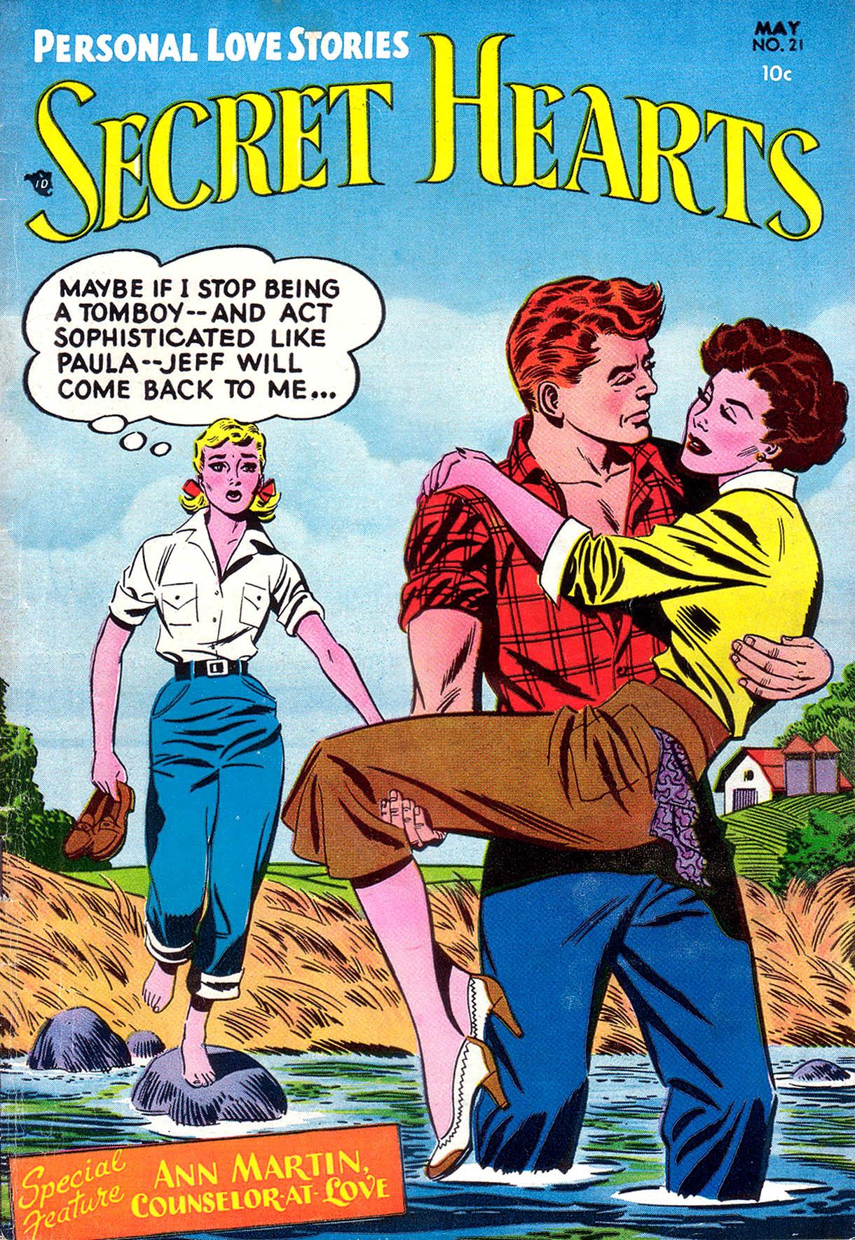 Read online Secret Hearts comic -  Issue #21 - 1