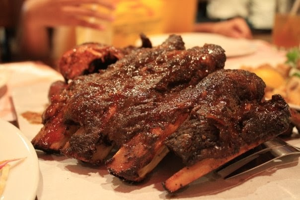 Philippines Cuisine Baby Back Ribs