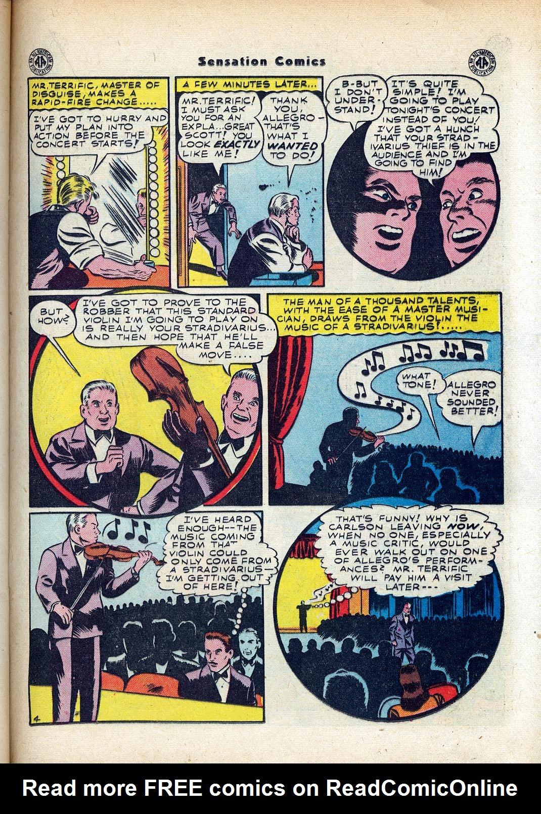 Read online Sensation (Mystery) Comics comic -  Issue #45 - 31
