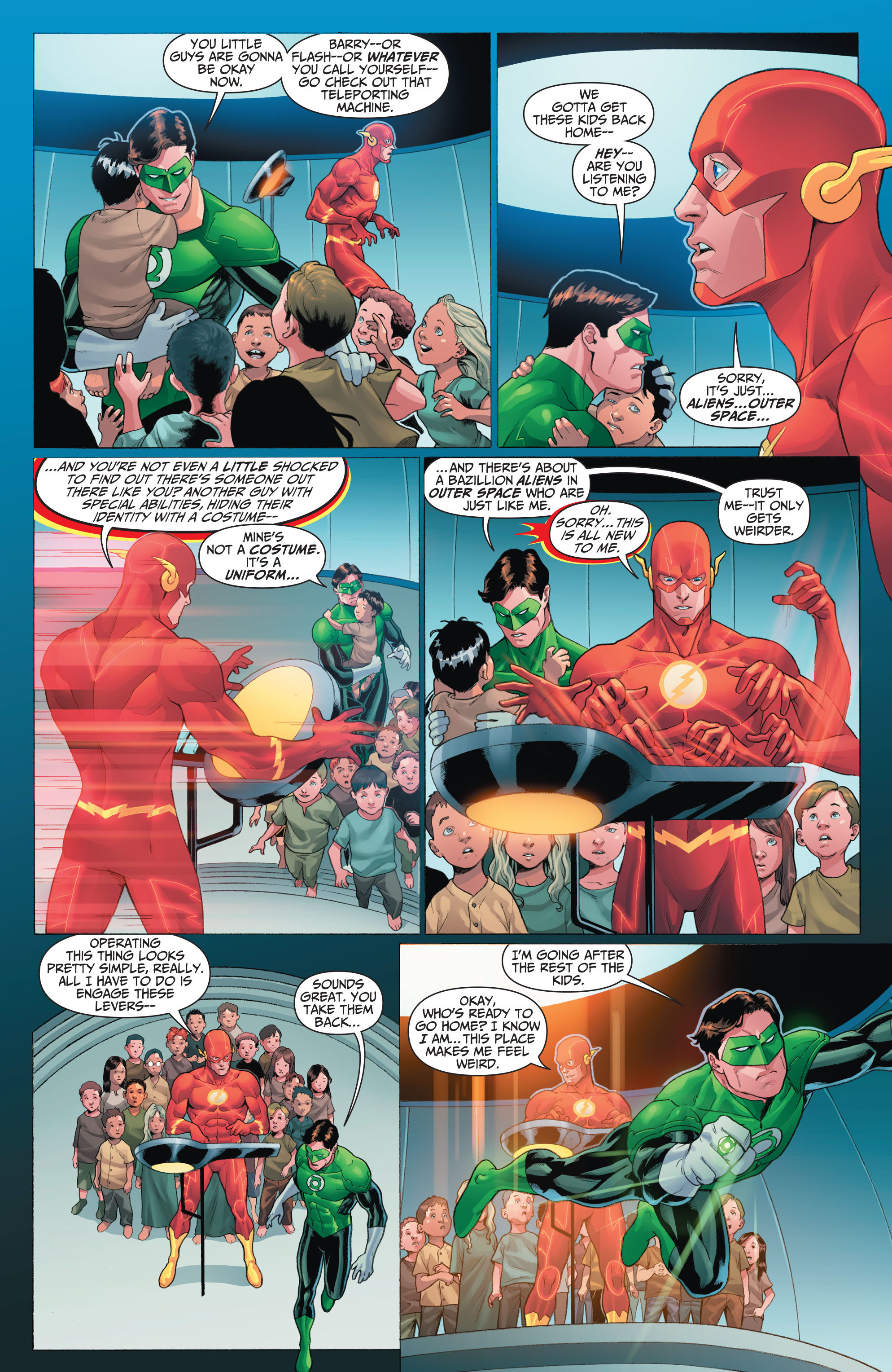 Read online The Flash (2011) comic -  Issue # _TPB 5 - 13