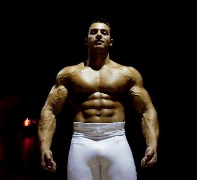 world bodybuilders pictures: french bodybuilder alexander