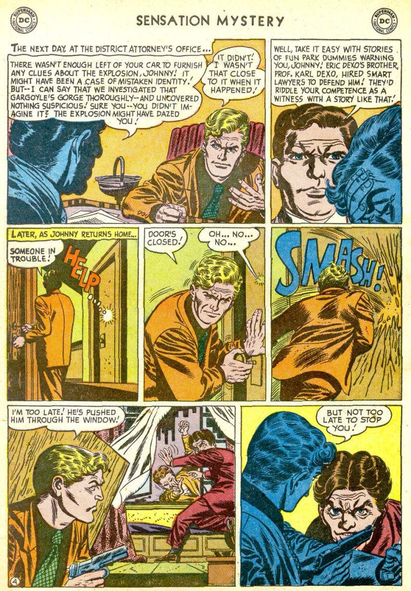 Read online Sensation (Mystery) Comics comic -  Issue #113 - 6
