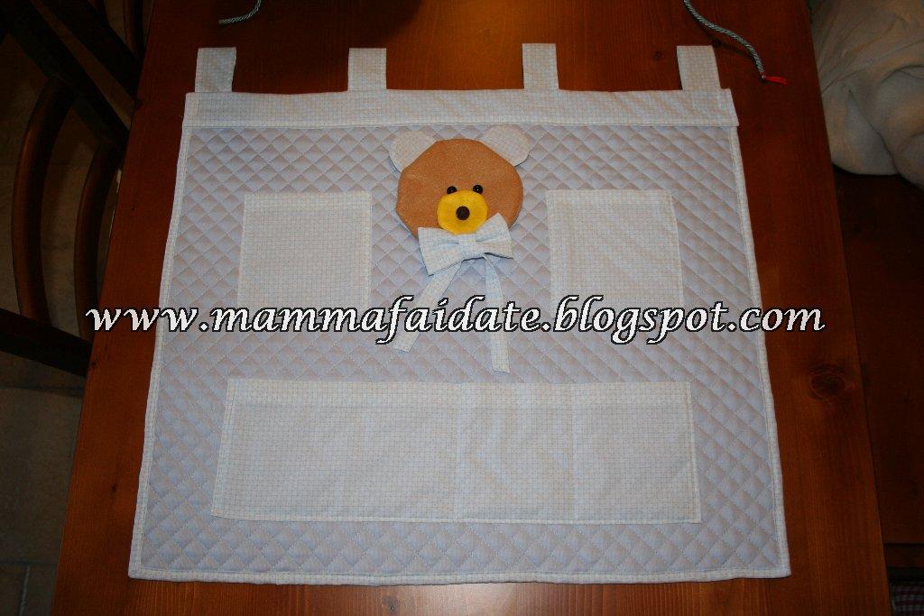 Mamma fai da te tutorial come creare un pannello for Pannello portaoggetti neonato amazon