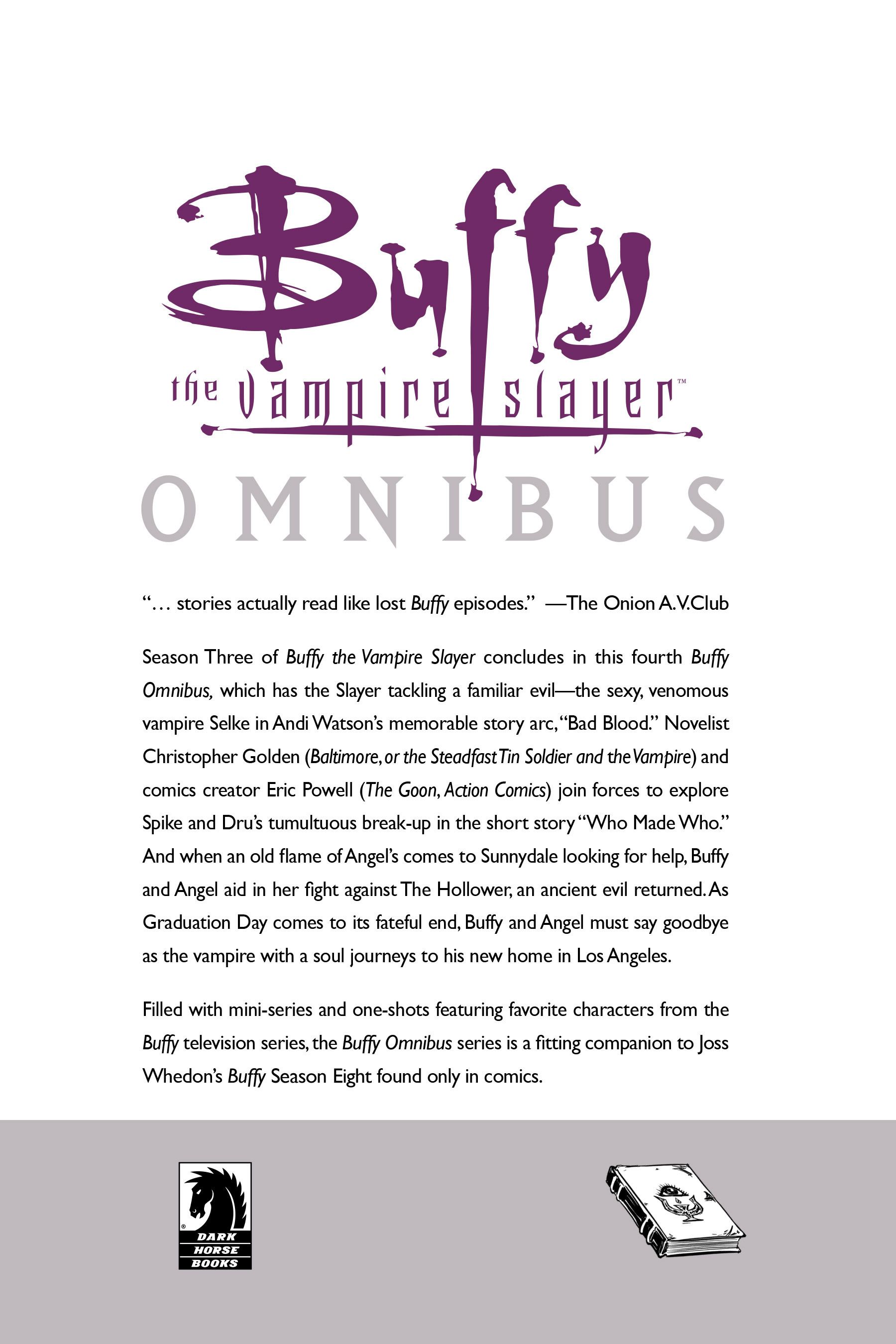 Read online Buffy the Vampire Slayer: Omnibus comic -  Issue # TPB 4 - 365