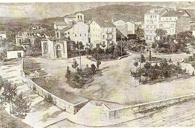 Ourense en 1908 - Antigua capilla de San Lázaro en el parque del mismo nombre