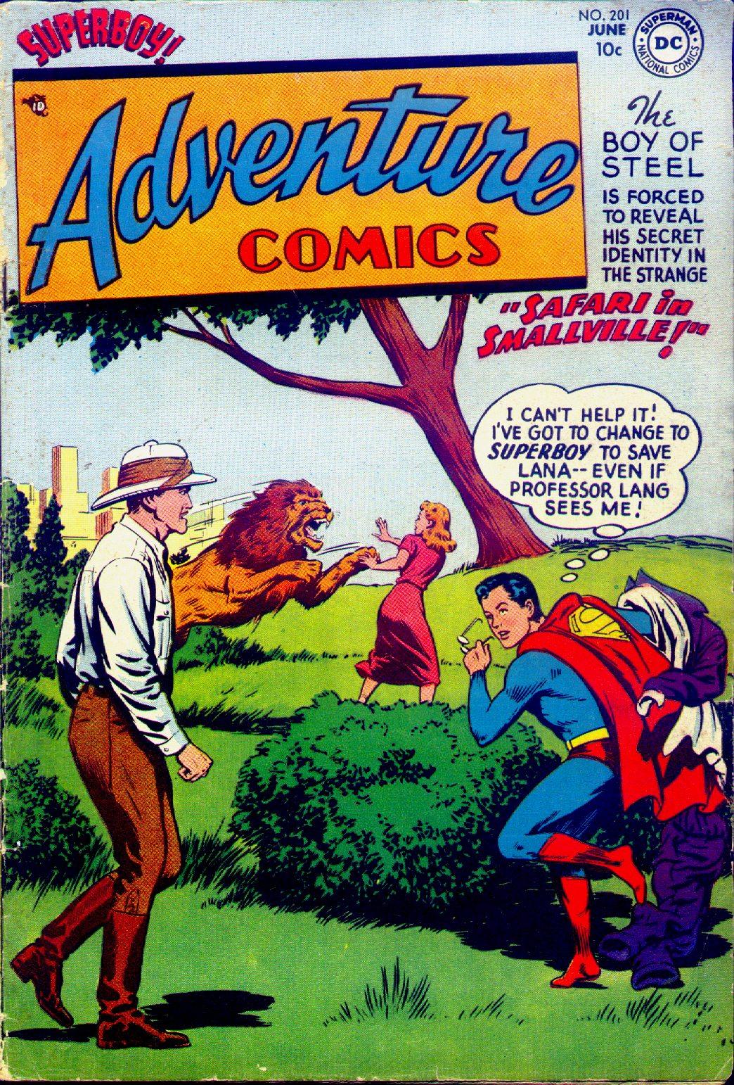 Read online Adventure Comics (1938) comic -  Issue #201 - 1