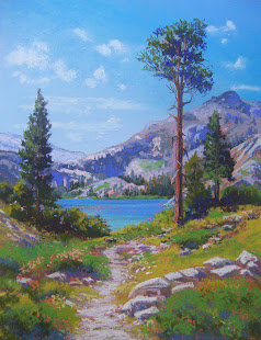 """Trail to Heather Lake"""