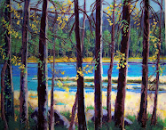 """SUMMER AT BURNSIDE LAKE"""