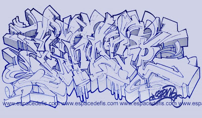 Wildstyle Graffiti Sketches Art