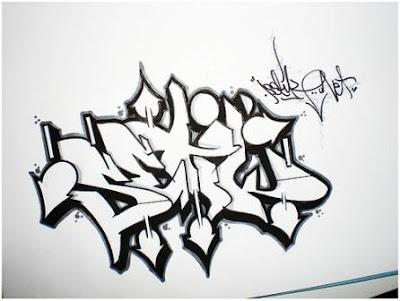 Graffiti Alfabet Kleurplaten.Graffiti In Axipix How To Draw Graffiti Letter W 1