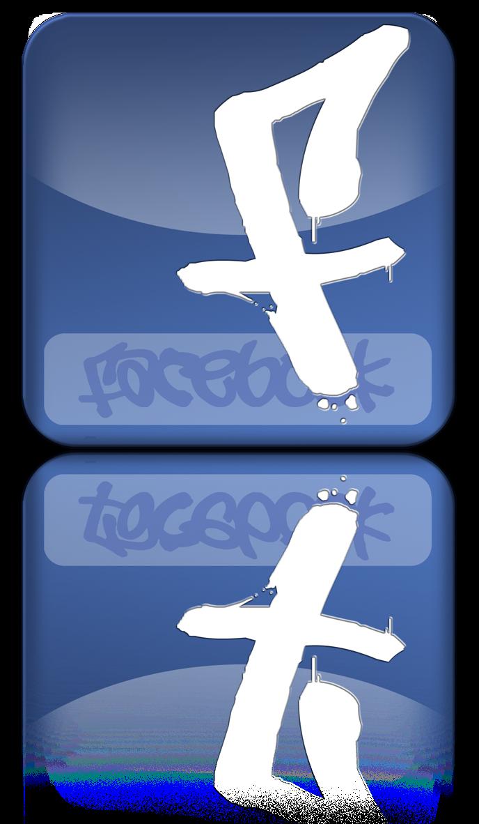 Grafity Font Facebook Graffiti Logo Letters F