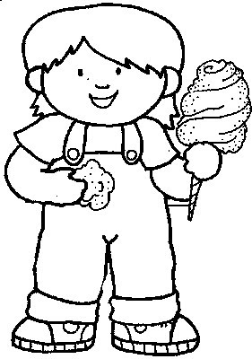 Cotton candy kids coloring pages disney coloring pages for Cotton candy coloring page