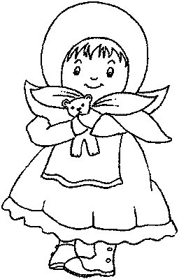 "babushka coloring pages | transmissionpress: ""Little Babushka"" Kids Coloring Pages"