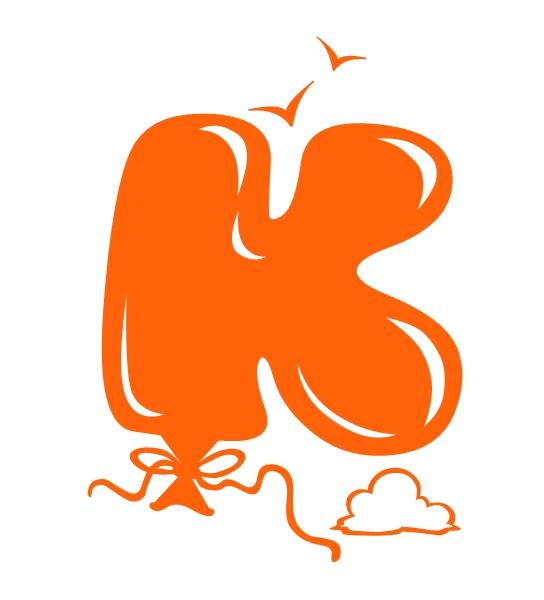 Grafity Font Graffiti Bubble Letters K Balloon Design
