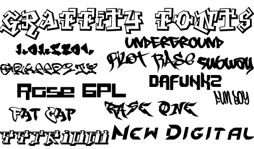 Cool Fonts You Can Draw