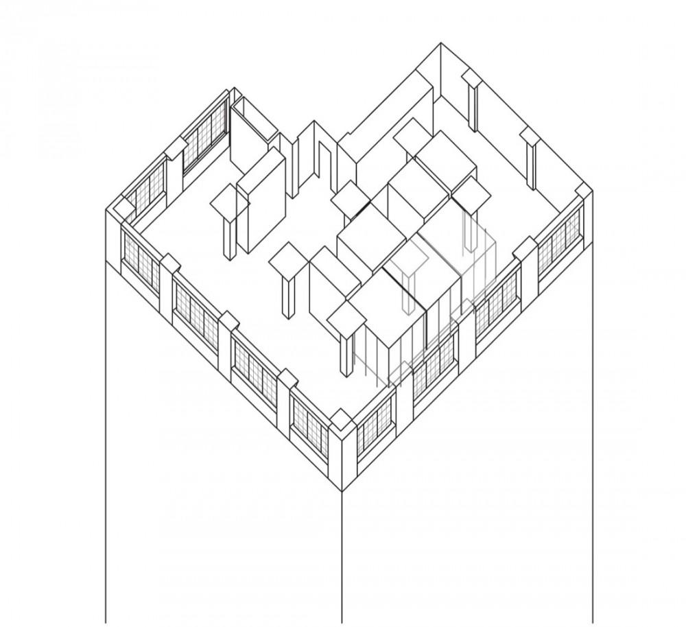 Axo 02 drawing courtesy of fearon hay architects