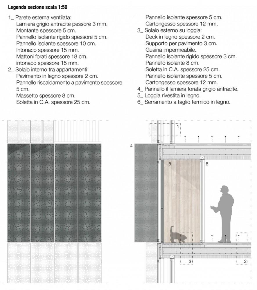 Taglio Solaio Per Scala housevariety: social housing in milan : by studiowok