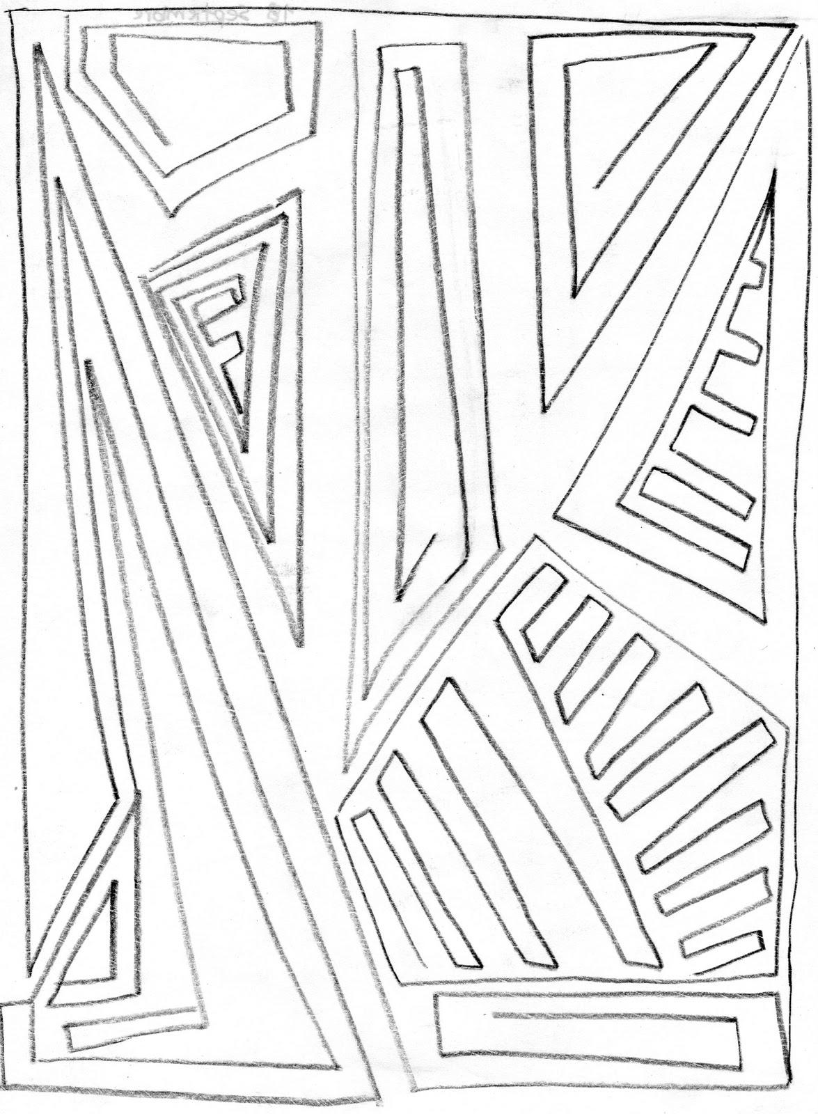 Expresion Y Comunicacion Dibujo Mano Alzada