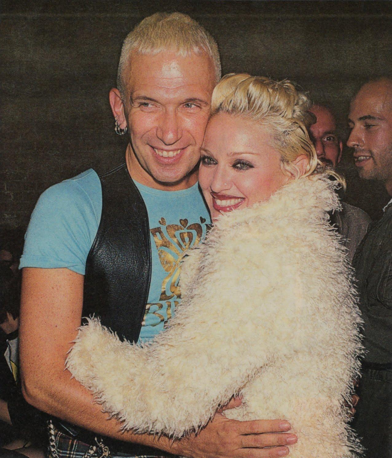 Pud Whacker's Madonna Scrapbook: Jean Paul Gaultier and Madonna