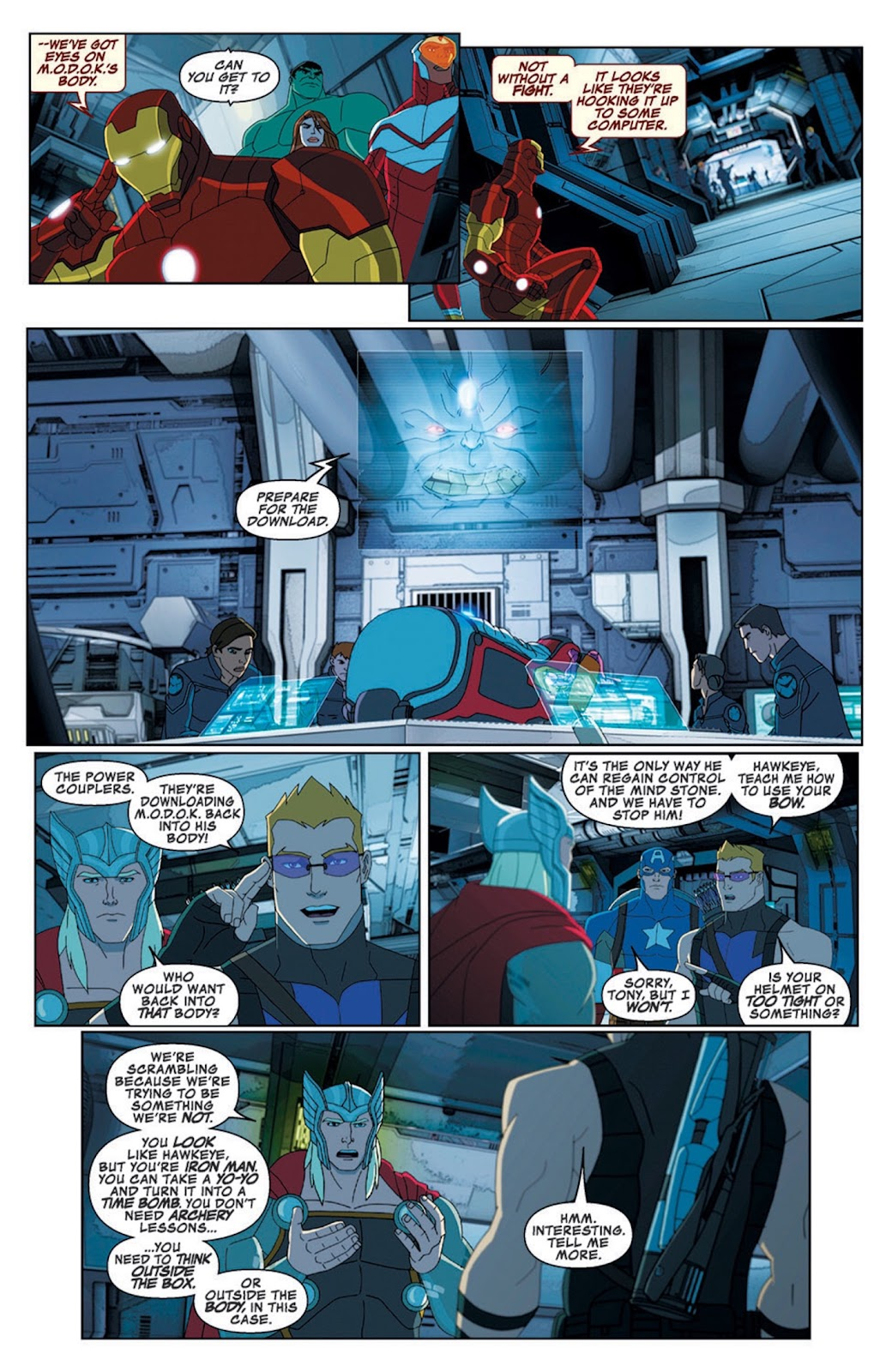 Read online Marvel Universe Avengers Assemble Season 2 comic -  Issue #8 - 23