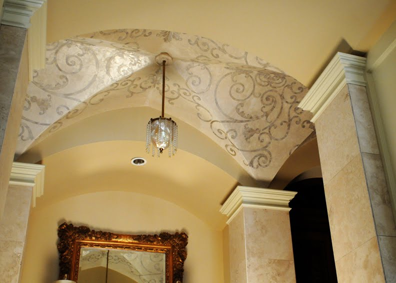 Rose Et Lis Groin Vault Ceilings Then And Now