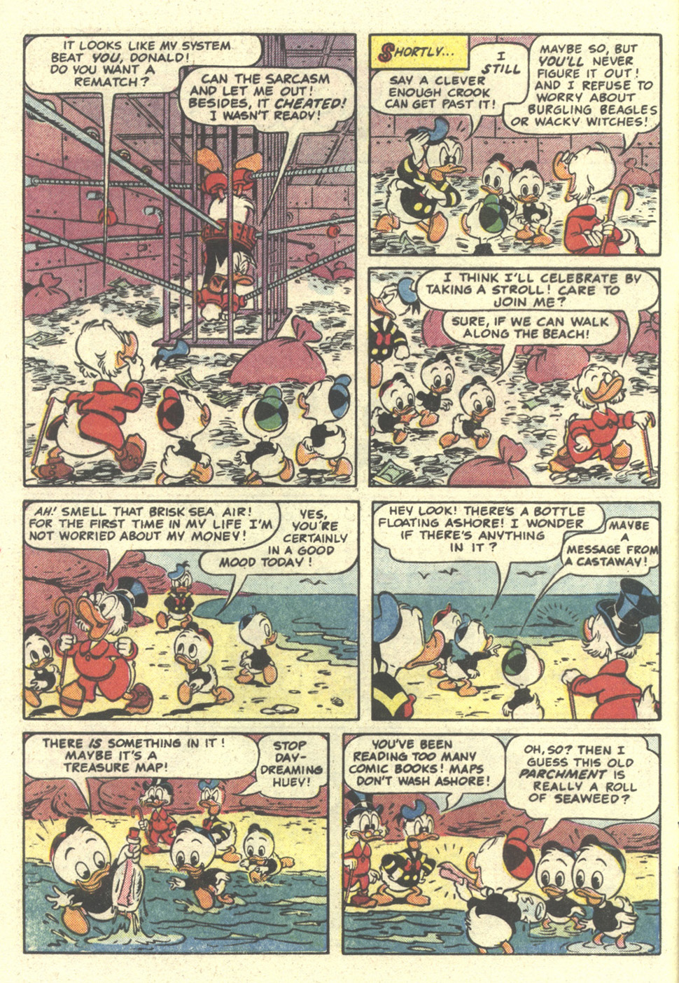 Read online Uncle Scrooge (1953) comic -  Issue #212 - 4