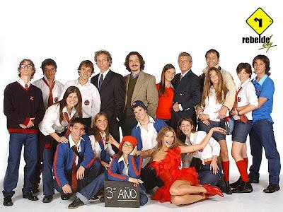 Toscano blog: rebelde way 2da temporada