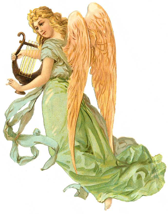 Cards Scrapbooking and Art: Vintage Angel & fairies (6)