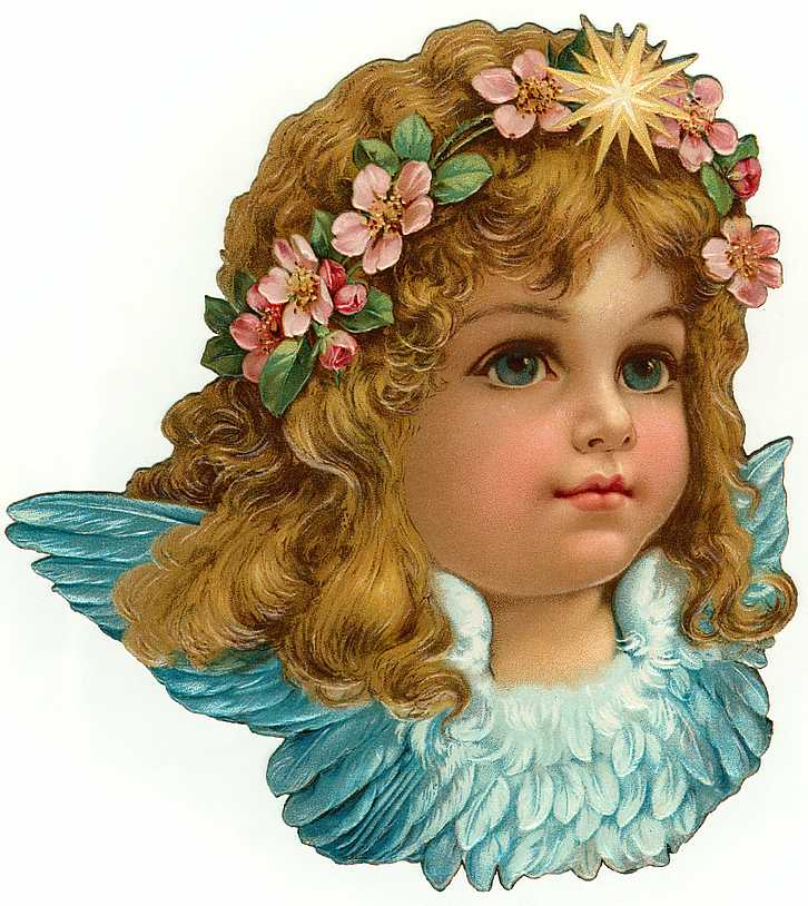 Cards Scrapbooking and Art: Vintage Angel & fairies (19)