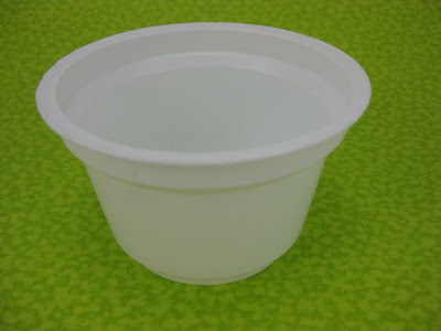 Mega•Crafty: Yogurt Cup Planter For Earth Day!