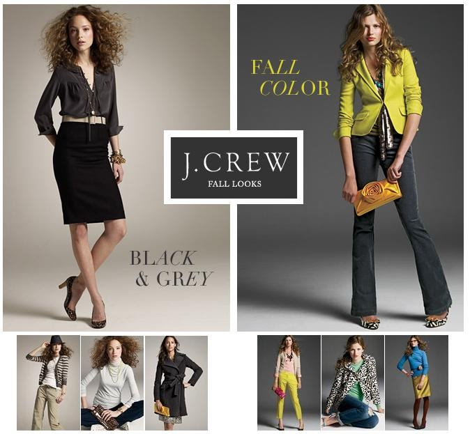 Black Book Online >> J.Crew Aficionada: J.Crew's Fall Looks For Women {Do you ...