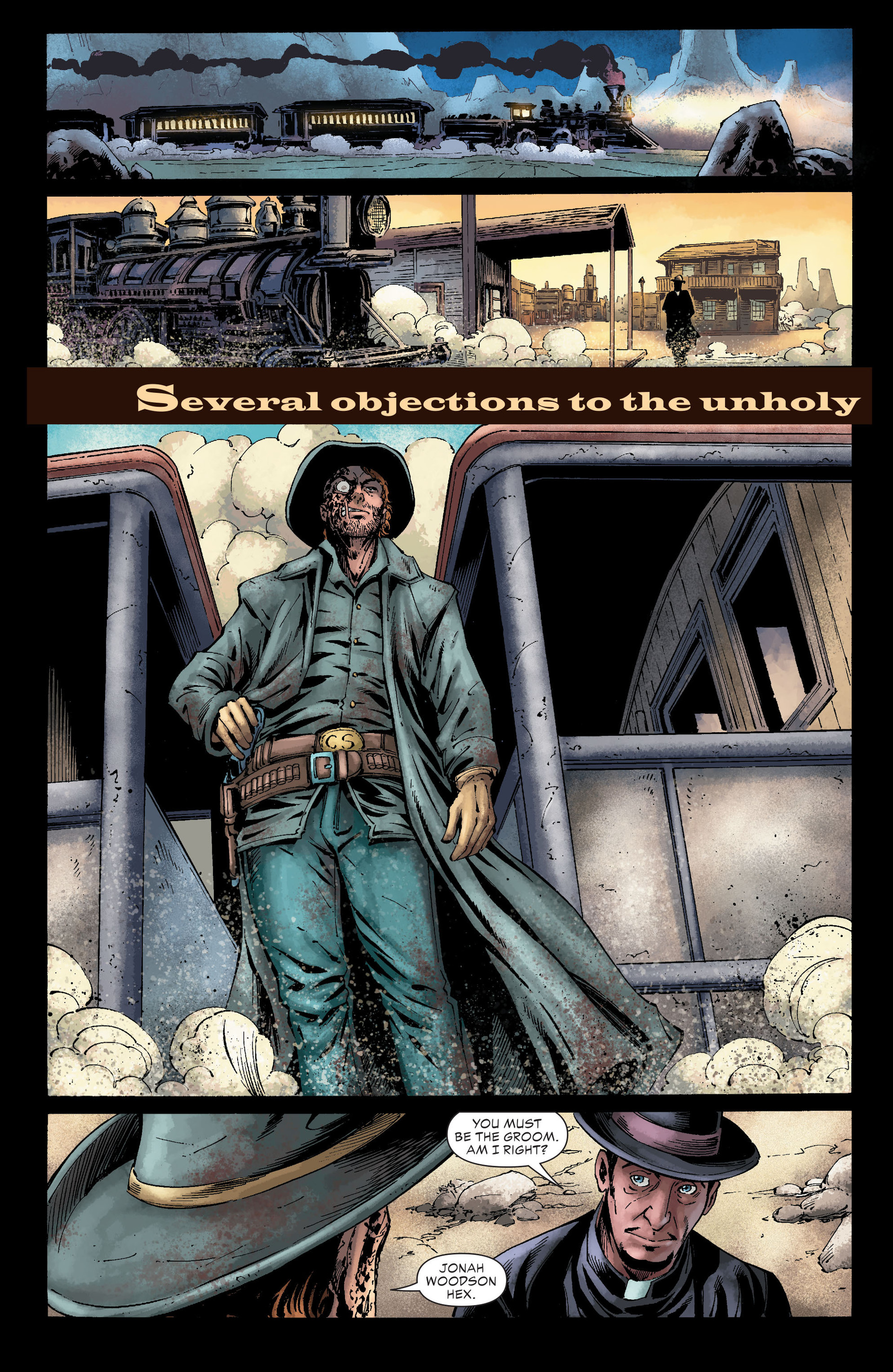 Read online All-Star Western (2011) comic -  Issue #26 - 8