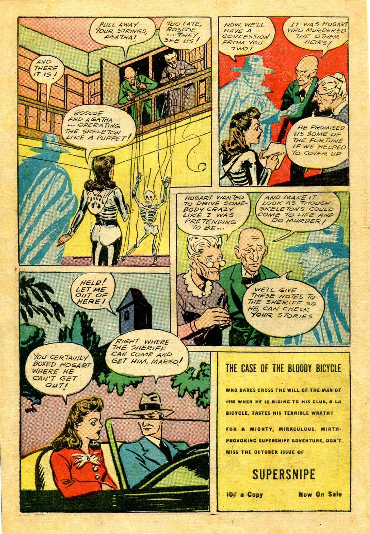 Read online Shadow Comics comic -  Issue #43 - 16