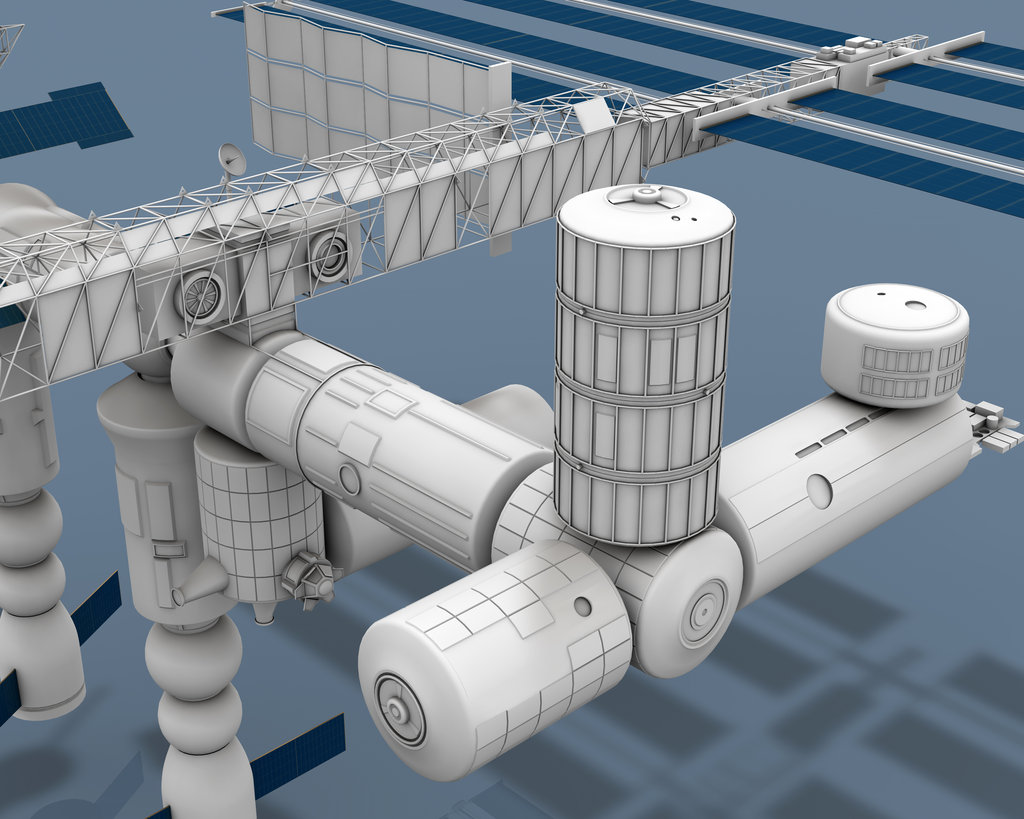 space station 3d models - photo #32
