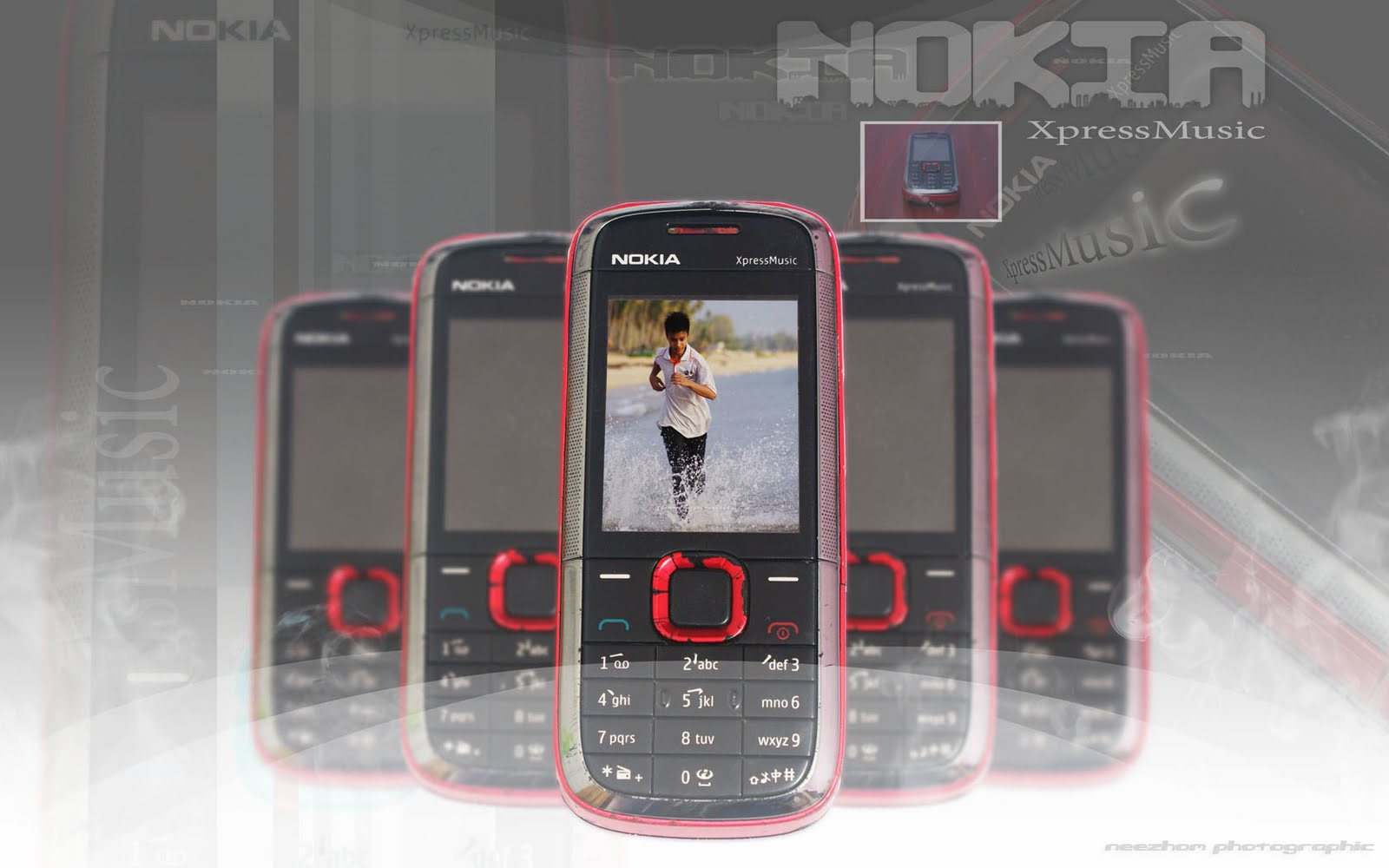Nokia Xpressmusic Handphone Montage Weird And Wonderful News Library