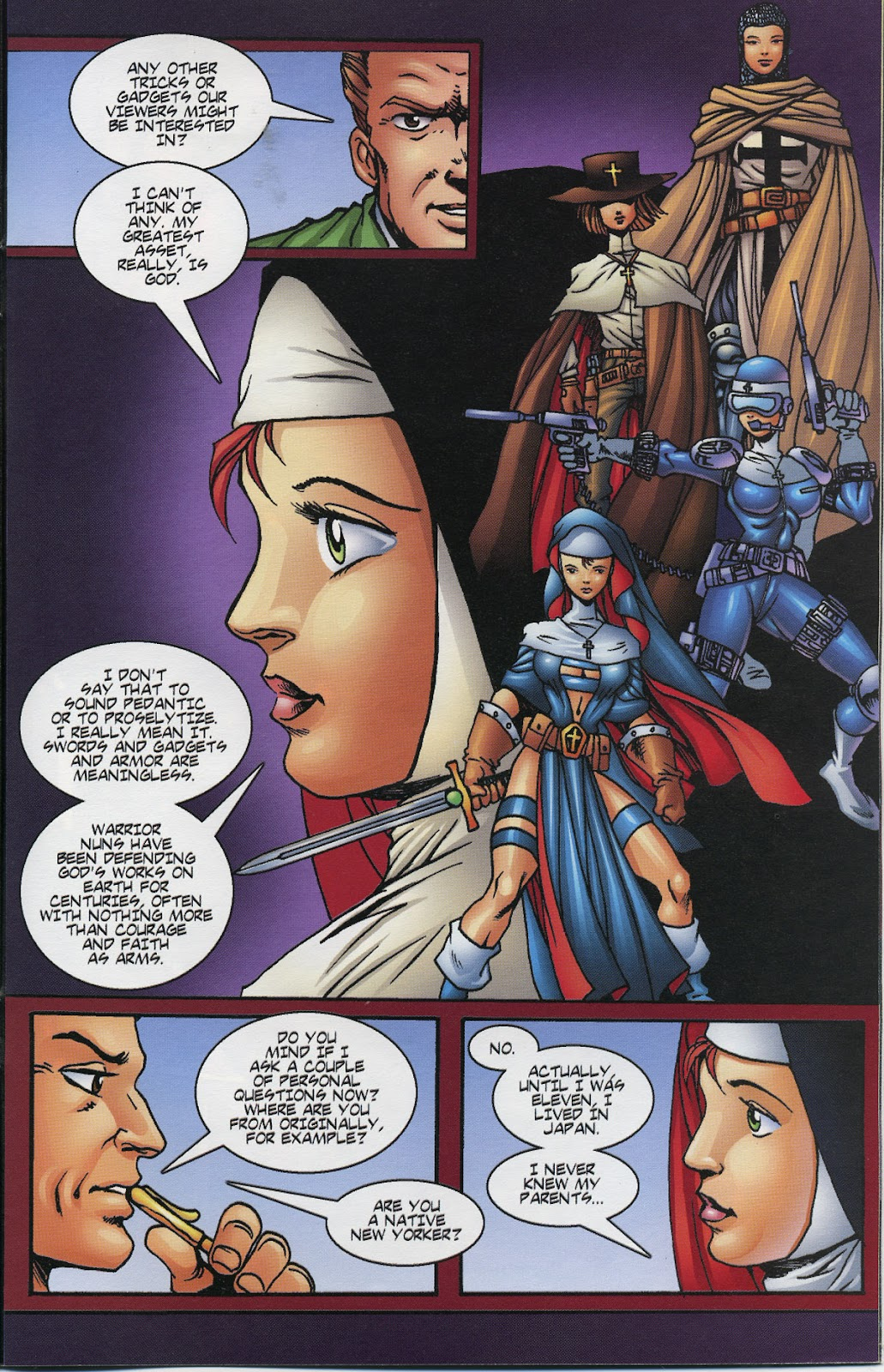 Warrior Nun Areala (1997) Issue #6 #6 - English 17