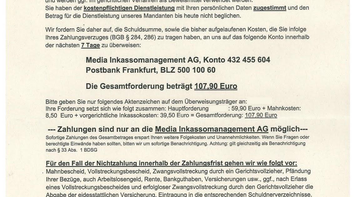 Abzocknewsblogspotcom über Die Verflechtungen Der Proinkasso Gmbh