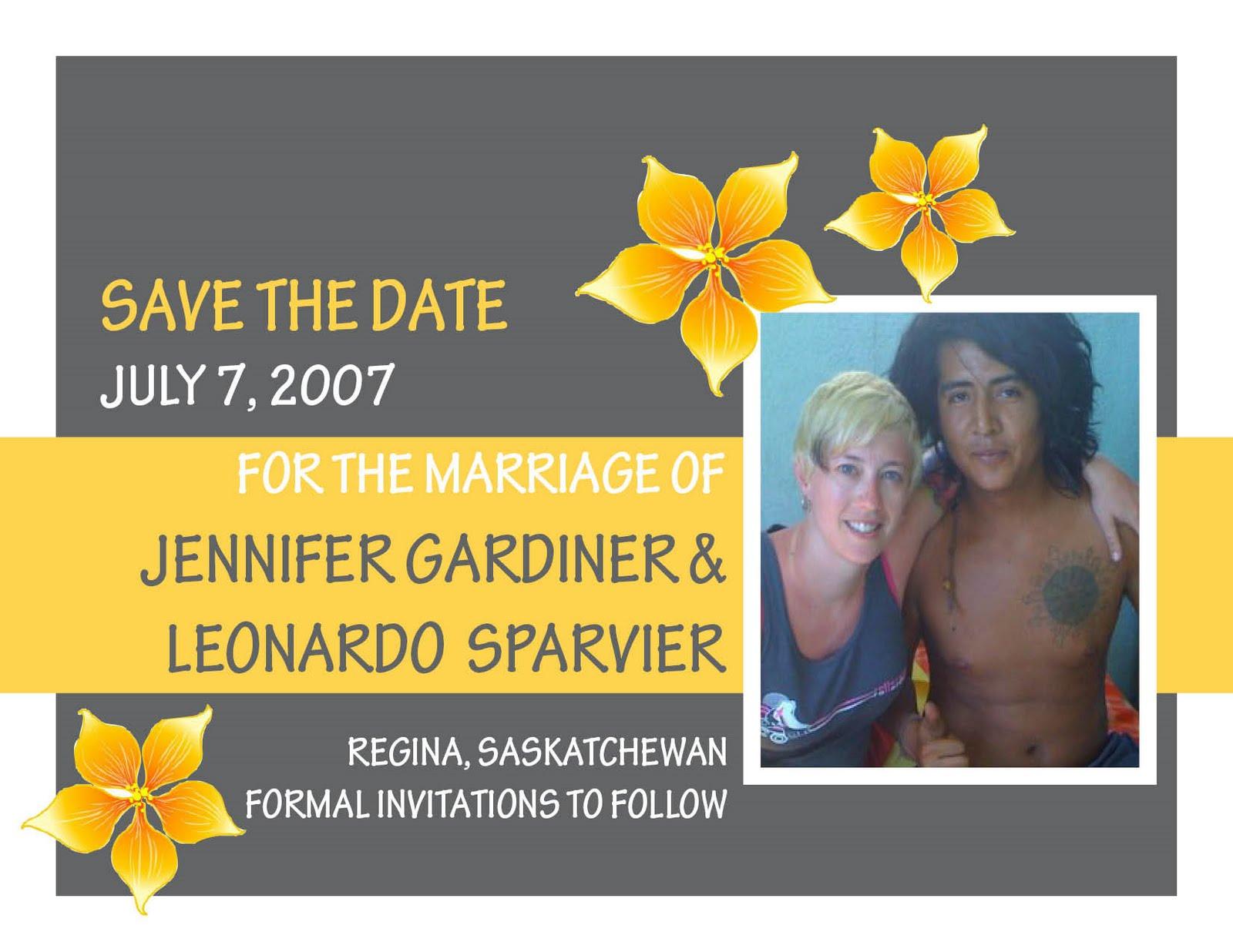 Graphics Portfolio: Wedding Invite & Save The Date Postcard