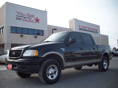 2001 Ford F150 Lariat 4wd 4 Door Pickup 10 999