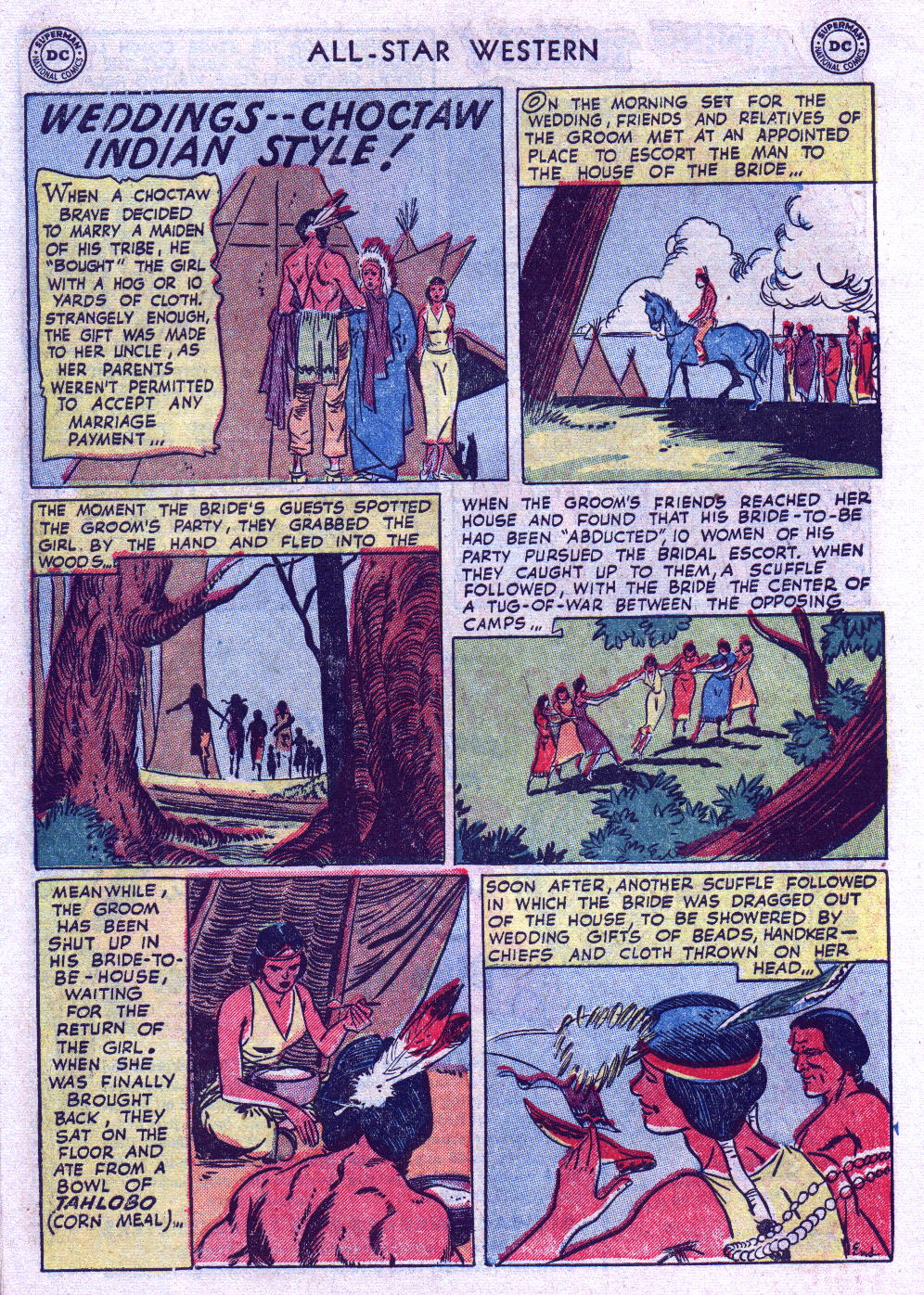 Read online All-Star Western (1951) comic -  Issue #74 - 10