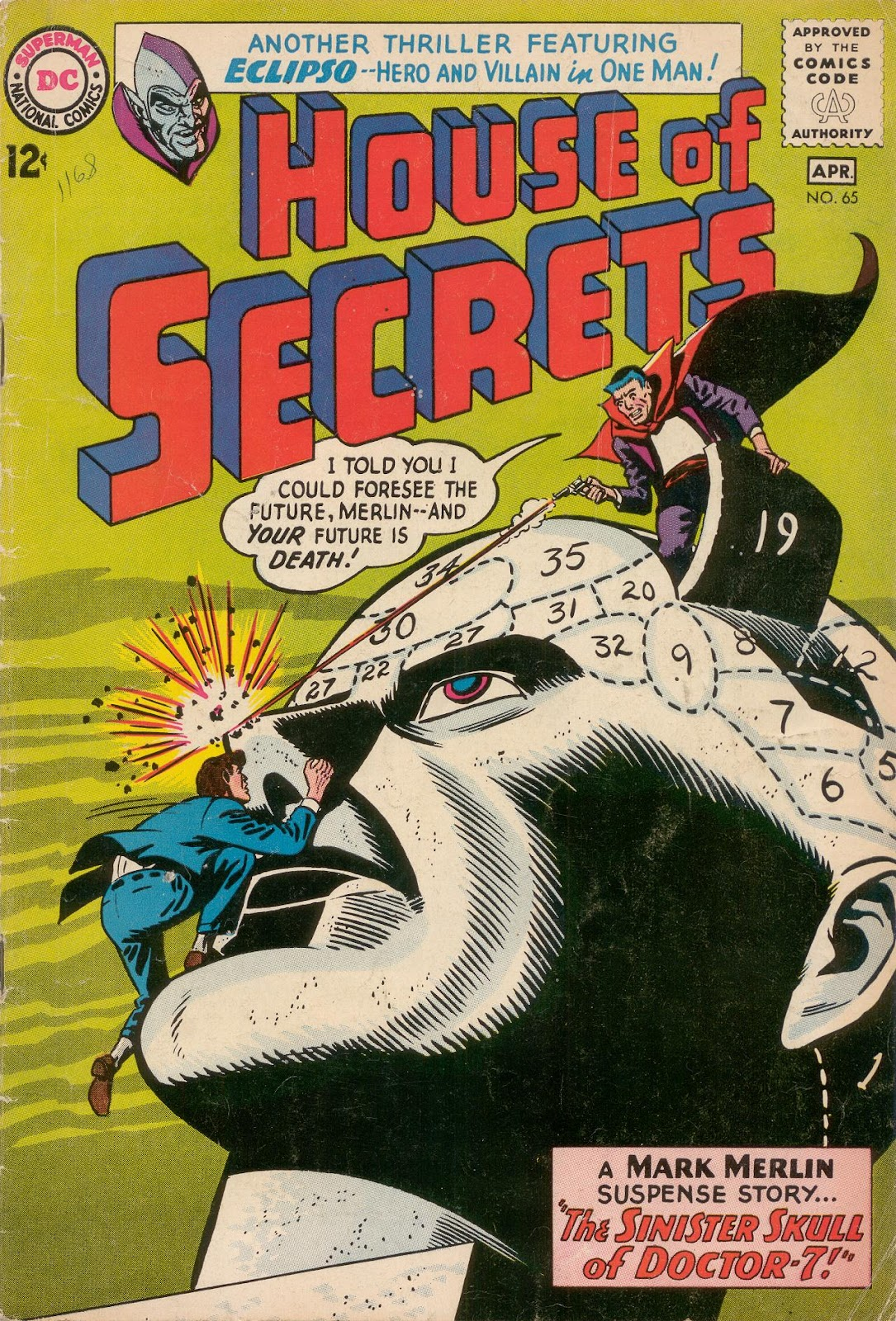 House of Secrets (1956) issue 65 - Page 1