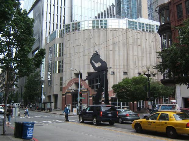 Matthew' Washington Trip Seattle Art Museum Aka Sam