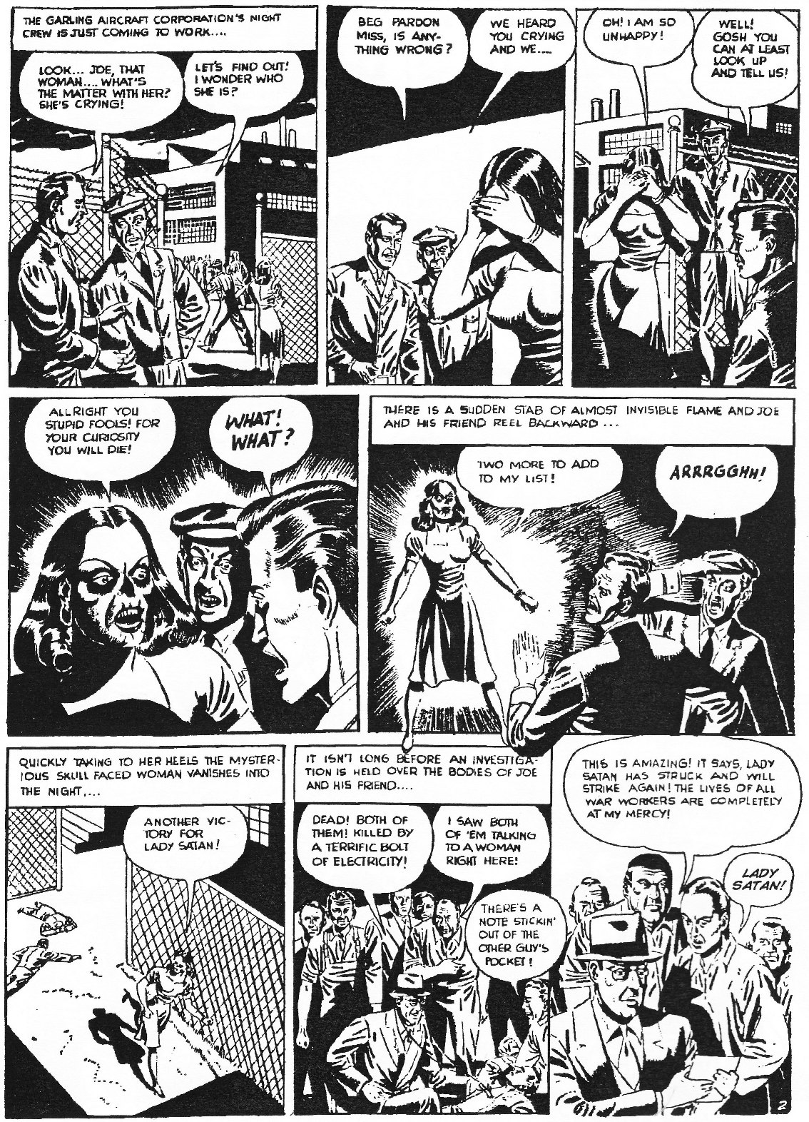 Read online Men of Mystery Comics comic -  Issue #84 - 192