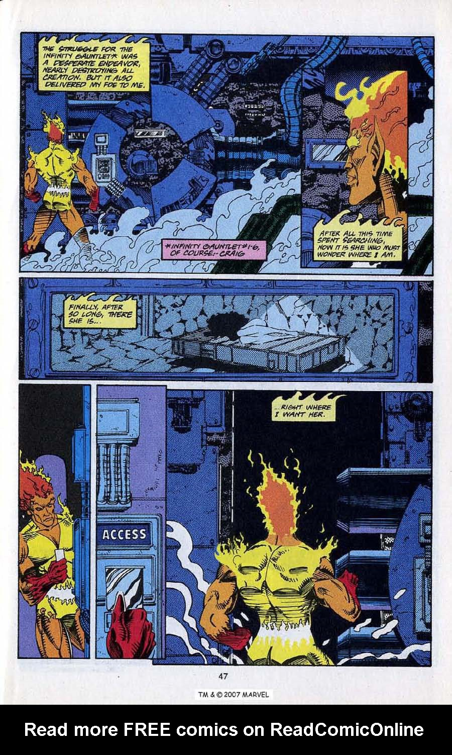 Read online Silver Surfer (1987) comic -  Issue # _Annual 5 - 49