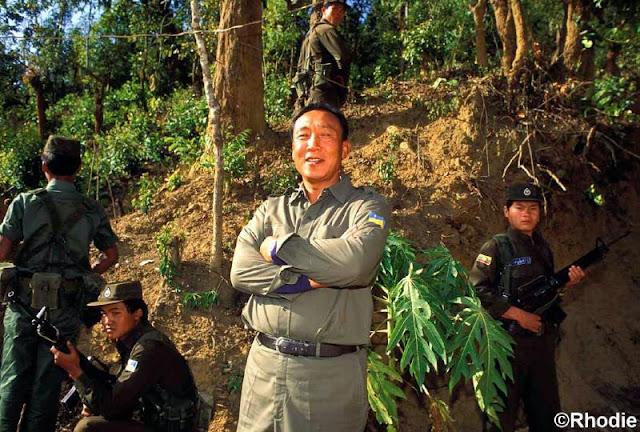 Image result for khun sa drug lord