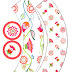 Flores: Toppers y Wrappers para Cupcakes para Imprimir Gratis.