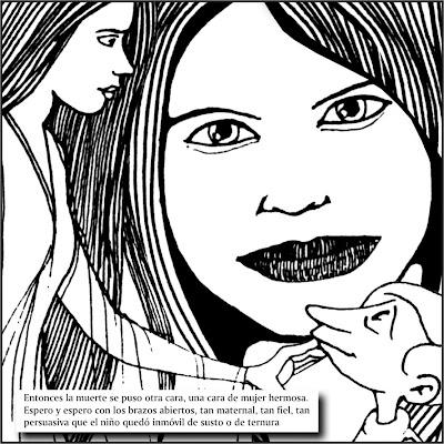 Piyo y sus diseños: UN CUENTO SOBRE LA MUERTE