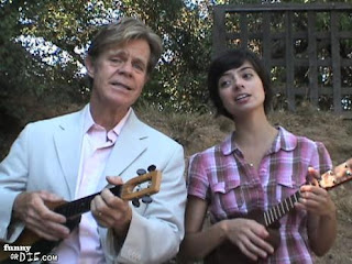 william h macy ukulele